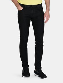 ARMANI EXCHANGE BLACK STONEWASH SKINNY JEANS Skinny jeans Man f