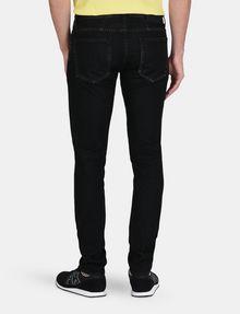 ARMANI EXCHANGE BLACK STONEWASH SKINNY JEANS Skinny jeans Man r