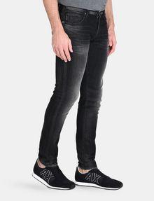 ARMANI EXCHANGE MEDIUM-WASH BLACK SKINNY JEAN Skinny jeans Man d
