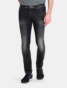 ARMANI EXCHANGE MEDIUM-WASH BLACK SKINNY JEAN Skinny jeans Man f