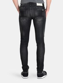 ARMANI EXCHANGE MEDIUM-WASH BLACK SKINNY JEAN Skinny jeans Man r