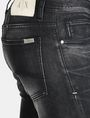 ARMANI EXCHANGE MEDIUM-WASH BLACK SKINNY JEAN Skinny jeans Man e