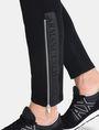 ARMANI EXCHANGE COATED SIDE-ZIP PANT Fleece Pant Man e
