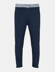 ARMANI EXCHANGE COATED SIDE-ZIP PANT Fleece Pant Man b