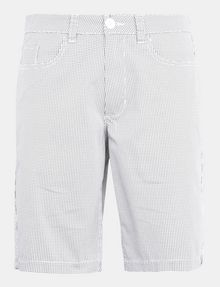 ARMANI EXCHANGE PRINTED FIVE-POCKET CHINO SHORTS Chino Short Man b