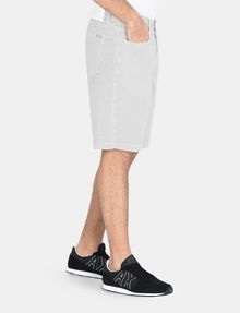 ARMANI EXCHANGE PRINTED FIVE-POCKET CHINO SHORTS Chino Short Man d