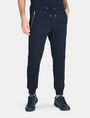 ARMANI EXCHANGE MOTO DETAIL JOGGER PANT Fleece Pant Man f