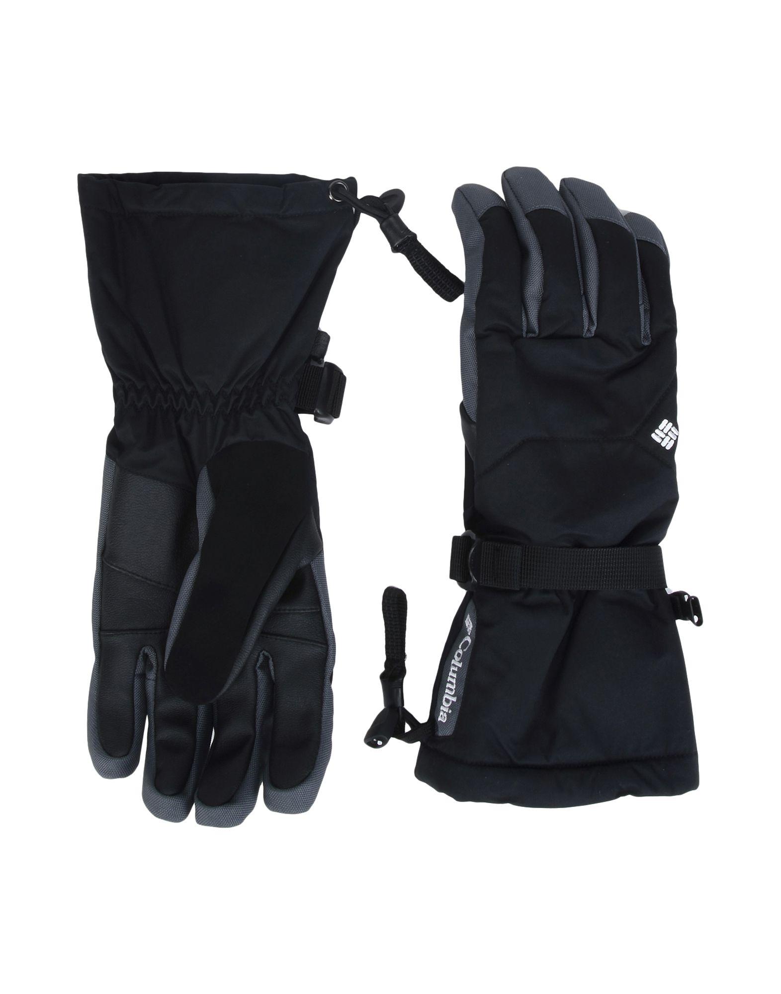 《2万円以上オーダーで送料無料》COLUMBIA メンズ 手袋 ブラック S ポリエステル 100% M WHIRLIBIRD GLOVE