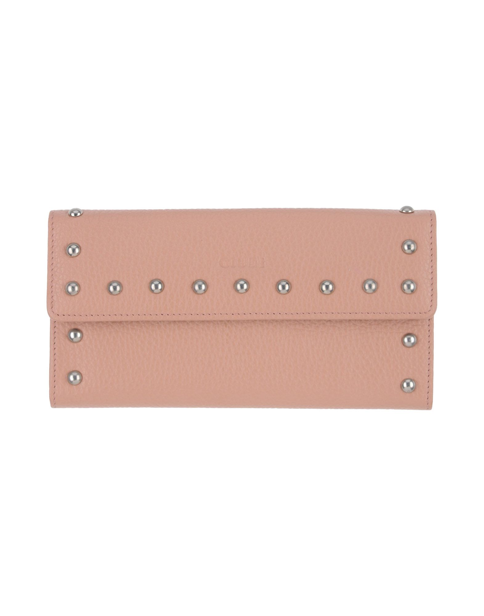 《送料無料》GIUDI レディース 財布 ローズピンク 革