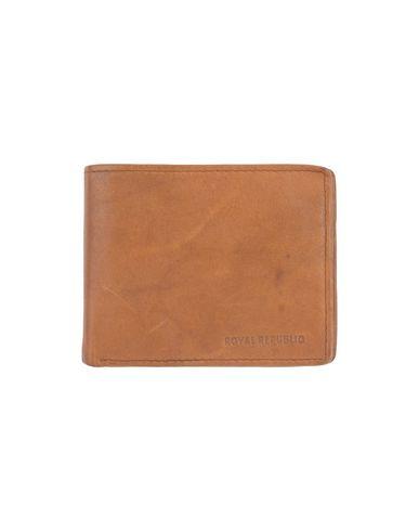 ROYAL REPUBLIQ メンズ 財布 キャメル 革