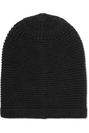 Janine merino wool and cashmere-blend beanie