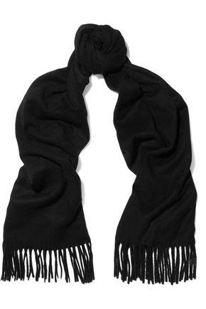 IRIS & INK Rhea fringed cashmere scarf