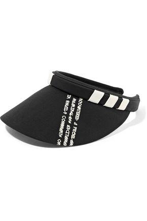 Y-3 + adidas Originals appliquéd printed cotton-blend canvas visor