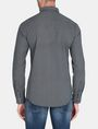 ARMANI EXCHANGE MICRO-DIAMOND PRINT SHIRT Long sleeve shirt Man r