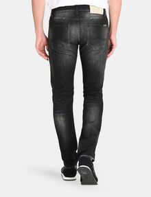 ARMANI EXCHANGE MEDIUM-WASH BLACK STRAIGHT-LEG JEAN STRAIGHT FIT JEANS Man r