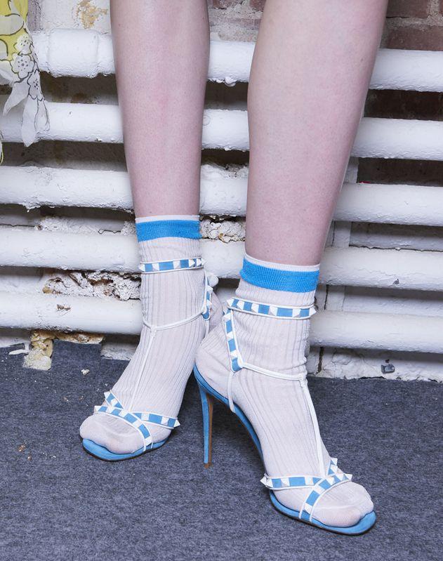 Silk Knitted Socks
