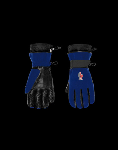 GLOVES Dark blue Grenoble Scarves & Gloves Man