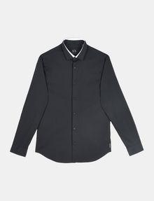 ARMANI EXCHANGE TIPPED COLLAR SHIRT Long sleeve shirt Man b
