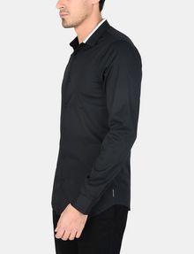 ARMANI EXCHANGE TIPPED COLLAR SHIRT Long sleeve shirt Man d