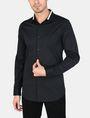 ARMANI EXCHANGE TIPPED COLLAR SHIRT Long sleeve shirt Man f