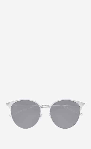 SAINT LAURENT CLASSIC E 202/k in silver matte a_V4