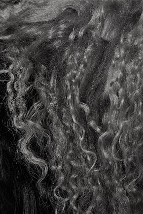 KARL DONOGHUE Two-tone shearling scarf