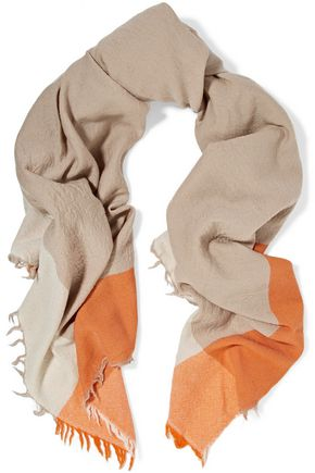RAG & BONE Renee fringed printed scarf