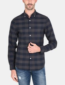 ARMANI EXCHANGE PLAID FLANNEL SHIRT Long sleeve shirt Man f