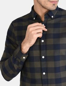ARMANI EXCHANGE PLAID FLANNEL SHIRT Long sleeve shirt Man e