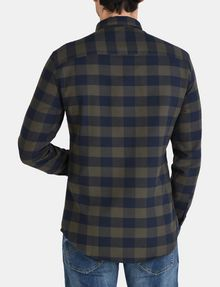 ARMANI EXCHANGE PLAID FLANNEL SHIRT Long sleeve shirt Man r