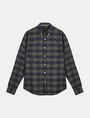 ARMANI EXCHANGE PLAID FLANNEL SHIRT Long sleeve shirt Man b