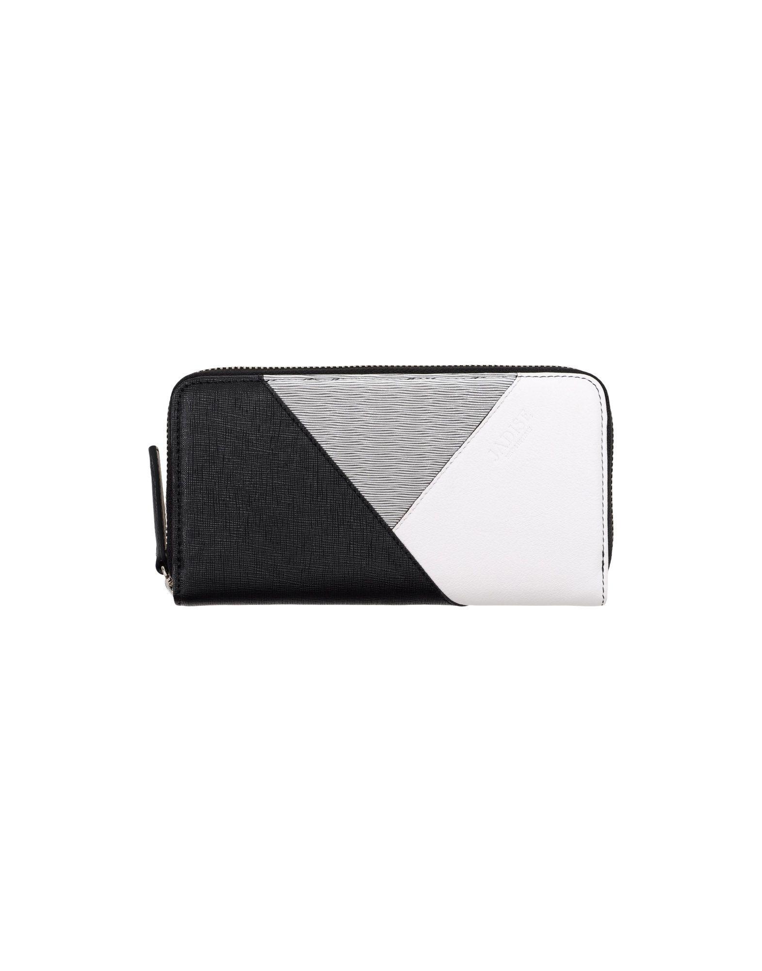 《送料無料》JADISE レディース 財布 ブラック 紡績繊維