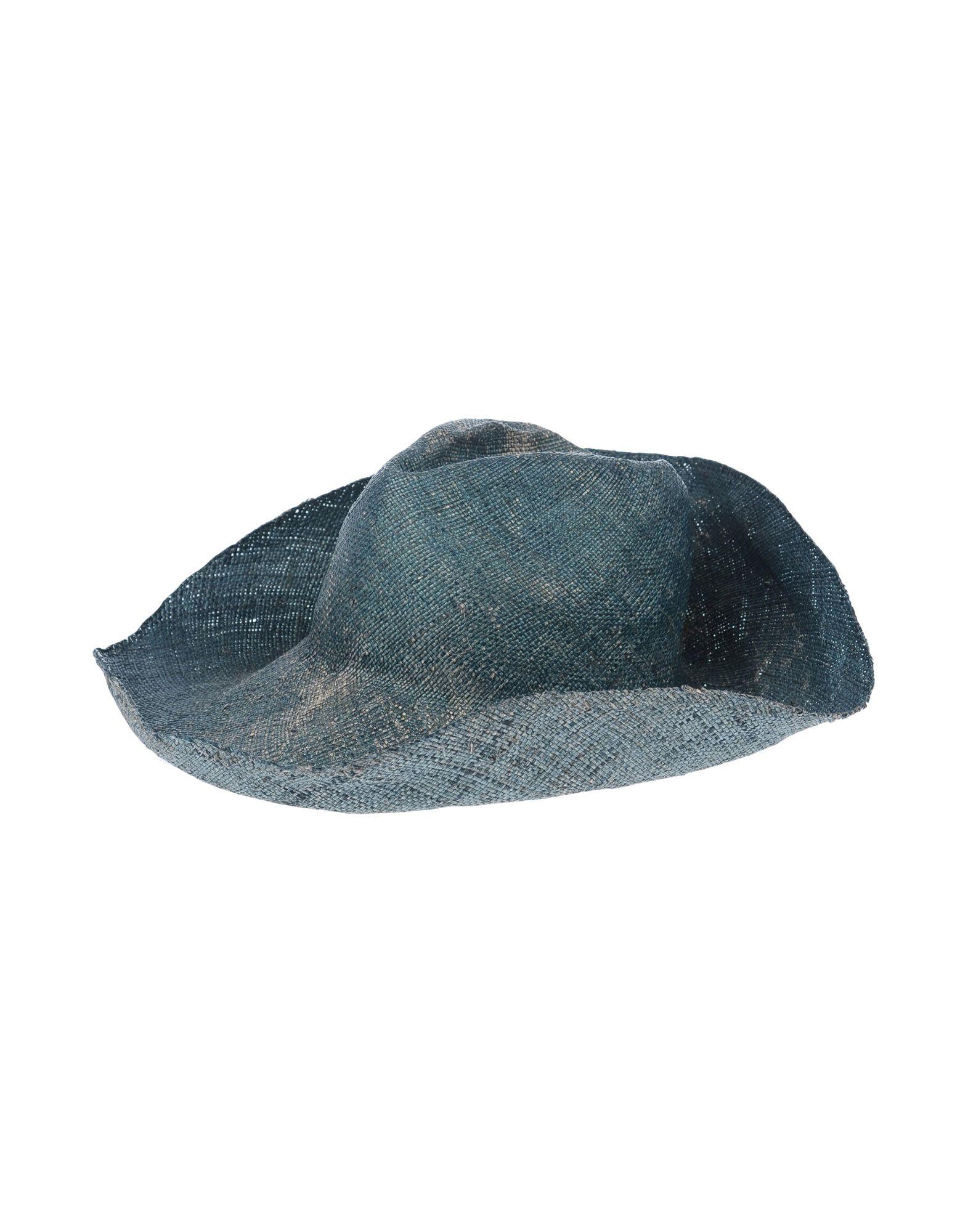 《送料無料》YESEY レディース 帽子 グリーン 57 ストロー