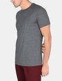 ARMANI EXCHANGE DEBOSSED TONAL LOGO CREW Logo T-shirt Man d
