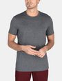 ARMANI EXCHANGE DEBOSSED TONAL LOGO CREW Logo T-shirt Man f