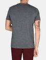 ARMANI EXCHANGE DEBOSSED TONAL LOGO CREW Logo T-shirt Man r