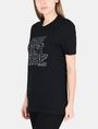 ARMANI EXCHANGE CARE DON'T SHARE STATEMENT TEE Non-logo Tee Woman d