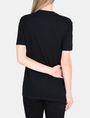 ARMANI EXCHANGE CARE DON'T SHARE STATEMENT TEE Non-logo Tee Woman r
