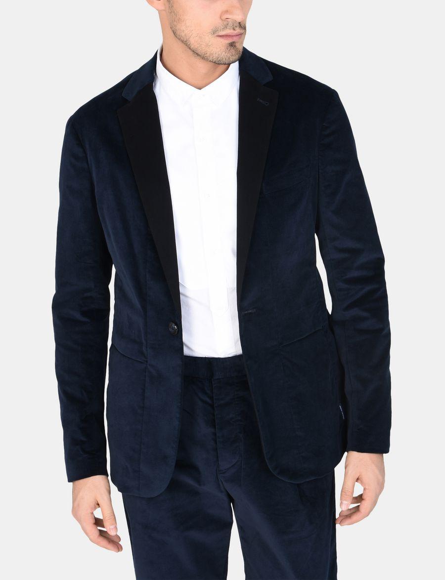 For Button Exchange Men One Armani Blazer Velvet 01wfqC