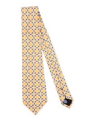 Купить Мужской галстук MP MASSIMO PIOMBO желтого цвета