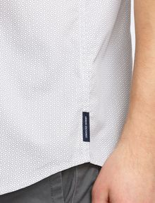 ARMANI EXCHANGE SHORT-SLEEVE PRINTED WOVEN SHIRT Short sleeve shirt Man e
