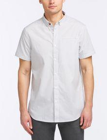 ARMANI EXCHANGE SHORT-SLEEVE PRINTED WOVEN SHIRT Short sleeve shirt Man f