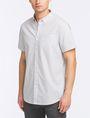 ARMANI EXCHANGE SHORT-SLEEVE PRINTED WOVEN SHIRT Short sleeve shirt Man d