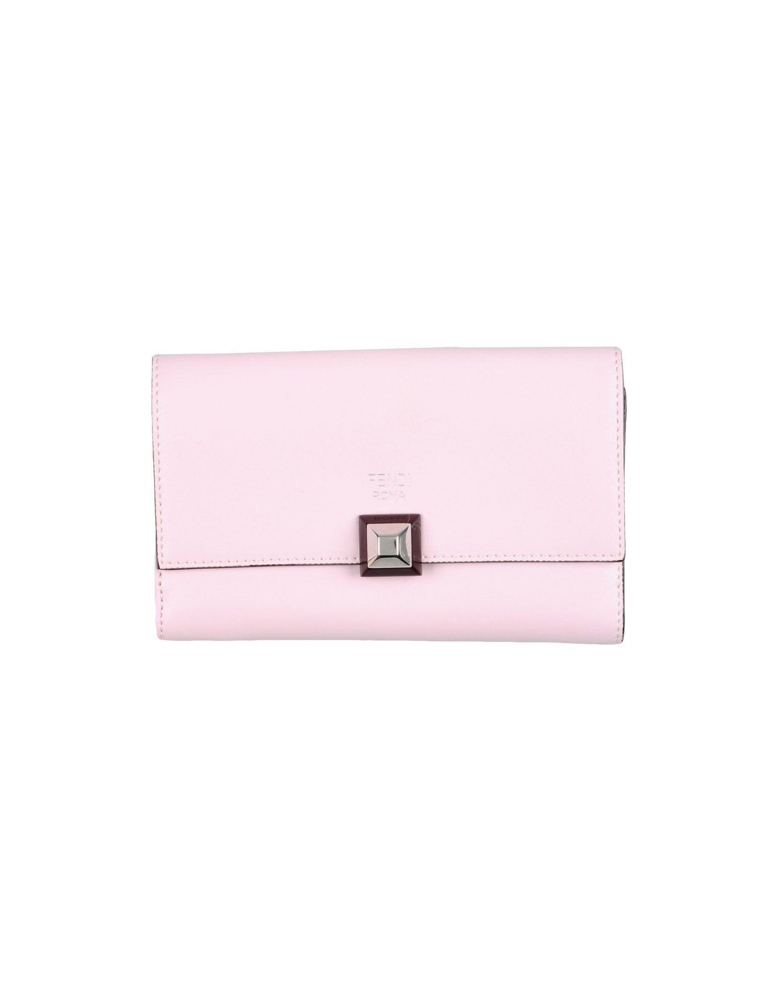 レディース フェンディ 財布 ピンク