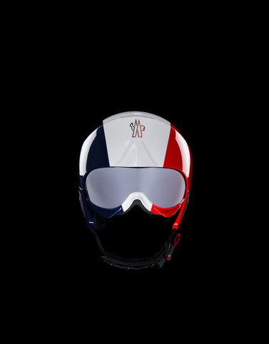SKI HELMET Red Grenoble Special