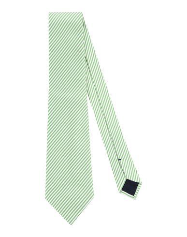 BALLANTYNE メンズ ネクタイ ライトグリーン シルク 100%