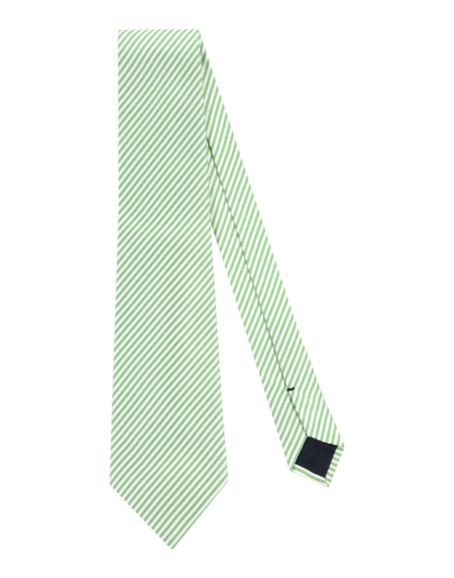 《送料無料》BALLANTYNE メンズ ネクタイ ライトグリーン シルク 100%