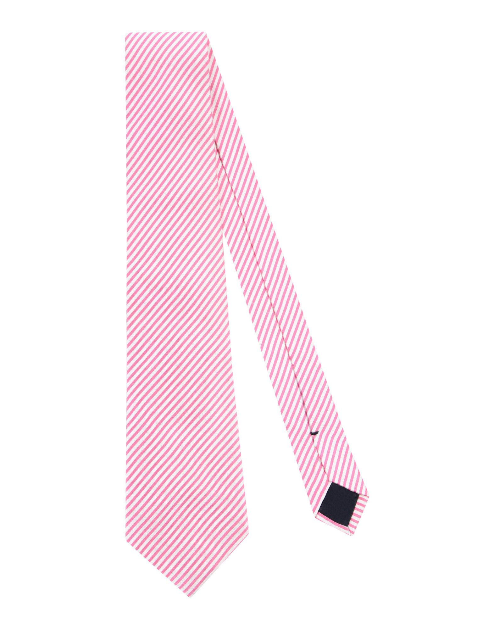《送料無料》BALLANTYNE メンズ ネクタイ ピンク シルク 100%