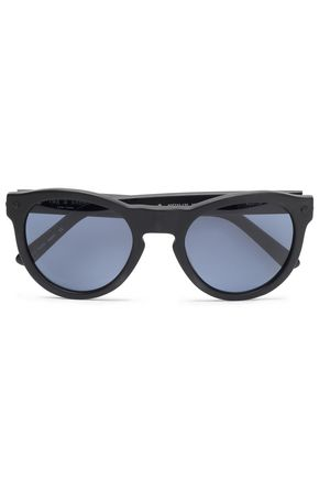 RAG & BONE Round-frame acetate sunglasses