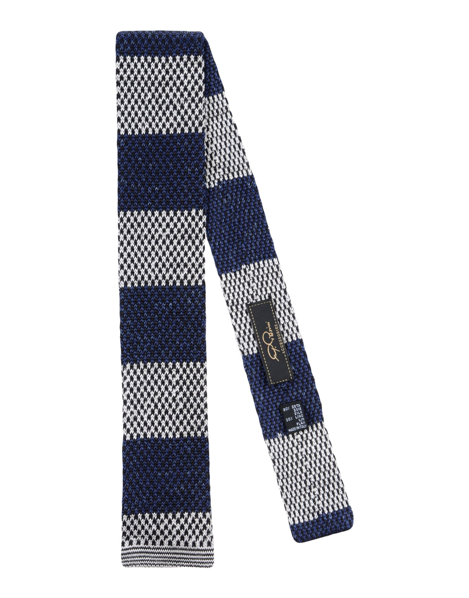 Ties in Dark Blue
